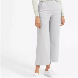 EVERLANE High Rise Wide-leg Cropped Jeans, Size 14